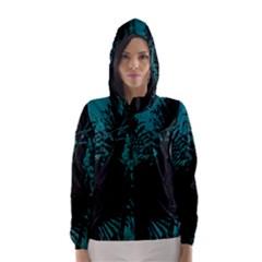 Palm Designs Hooded Wind Breaker (Women)