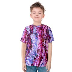 Purple Tree Bark Kid s Cotton Tee