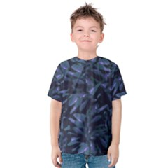 Tropical Dark Patterned Kid s Cotton Tee