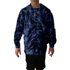Tropical Dark Patterned Hooded Wind Breaker (Kids)
