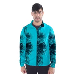 Modern Palm Leaves Wind Breaker (Men)