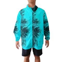 Modern Palm Leaves Wind Breaker (Kids)