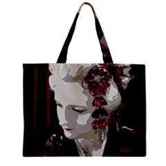 Geisha Zipper Tiny Tote Bags