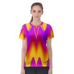 Love to the colors Women s Sport Mesh Tee