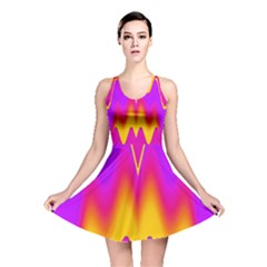 Love to the colors Reversible Skater Dress