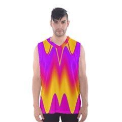 Love to the colors Men s Basketball Tank Top