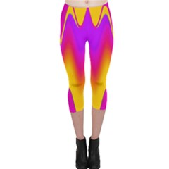 Love to the colors Capri Leggings