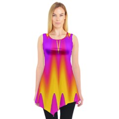 Love to the colors Sleeveless Tunic