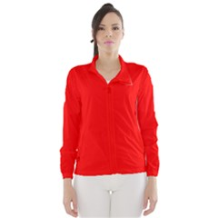 Trendy Red  Wind Breaker (women)