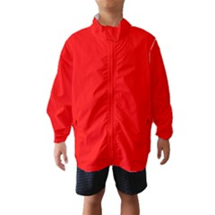Trendy Red  Wind Breaker (kids)