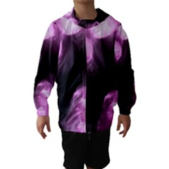 Purple Circles No. 2 Hooded Wind Breaker (Kids)
