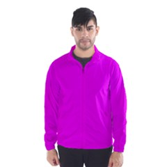 Trendy Purple  Wind Breaker (Men)