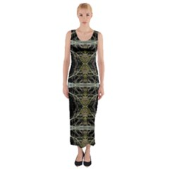 Lit0110002011 Fitted Maxi Dress