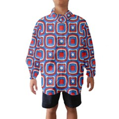 3d squares Wind Breaker (Kids)
