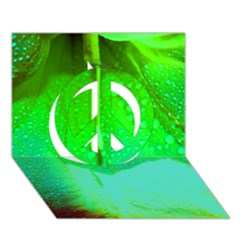 Angels 1 Peace Sign 3d Greeting Card (7x5)