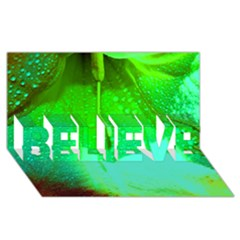 Angels 1 Believe 3d Greeting Card (8x4)