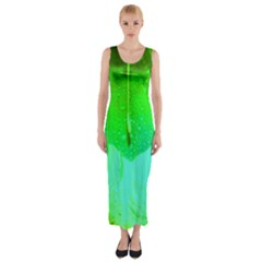 Angels 1 Fitted Maxi Dress