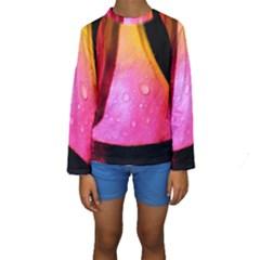 Pink Angel Kid s Long Sleeve Swimwear
