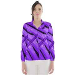 Purple Fern Wind Breaker (women)