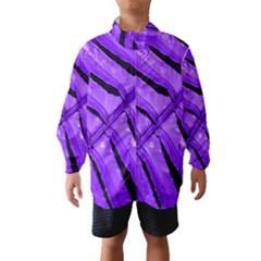 Purple Fern Wind Breaker (Kids)