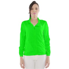 Cool Green Wind Breaker (Women)