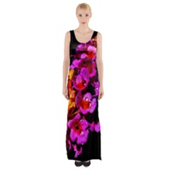Lantanas Maxi Thigh Split Dress