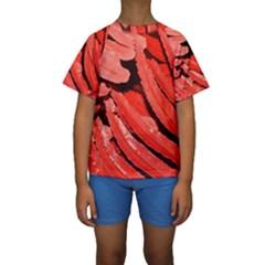 Dsc 0088 Kid s Short Sleeve Swimwear