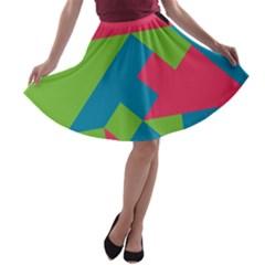 Angles A-line Skater Skirt