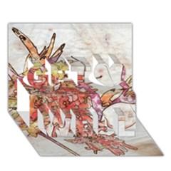 Art Studio 17216 Get Well 3d Greeting Card (7x5)
