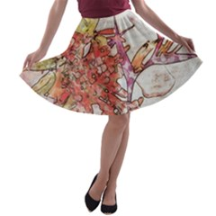 Art Studio 17216 A-line Skater Skirt