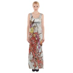 Art Studio 17216 Maxi Thigh Split Dress
