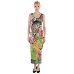 Art Studio 21216 Fitted Maxi Dress