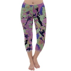 Floral Art Studio 12216 Capri Winter Leggings