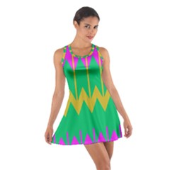 Chevrons Cotton Racerback Dress