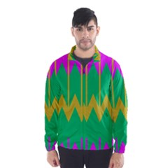 Chevrons Wind Breaker (men)