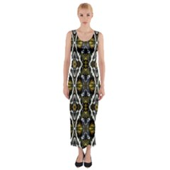 lit190215002011 Fitted Maxi Dress