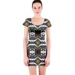 Idaho 190215002009 Short Sleeve Bodycon Dress