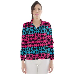 Rhombus and trianglesWind Breaker (Women)
