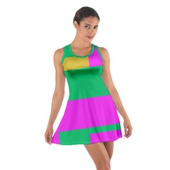 Rectangles And Other Shapes Cotton Racerback Dress