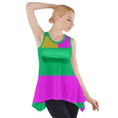 Rectangles and other shapes Side Drop Tank Tunic