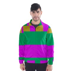 Rectangles and other shapes Wind Breaker (Men)