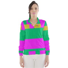 Rectangles and other shapes Wind Breaker (Women)