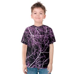 Purple Twigs Kid s Cotton Tee