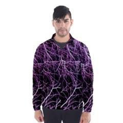 Purple Twigs Wind Breaker (Men)