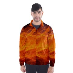 Orange Wonder Wind Breaker (Men)