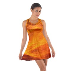 Orange Wonder Racerback Dresses