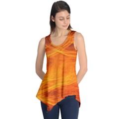 Orange Wonder Sleeveless Tunic