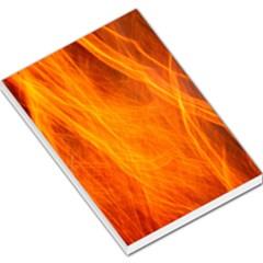 Orange Wonder 2 Large Memo Pads
