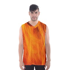 Orange Wonder 2 Men s Basketball Tank Top