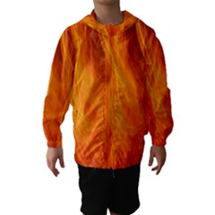 Orange Wonder 2 Hooded Wind Breaker (Kids)